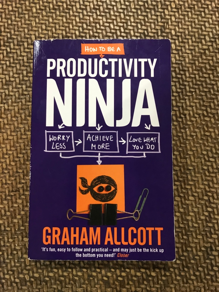 Tis I, the Productivity Ninja